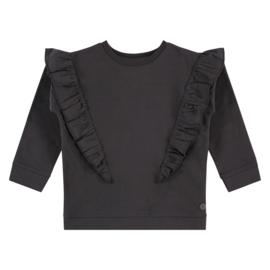 Babyface sweater met ruffles