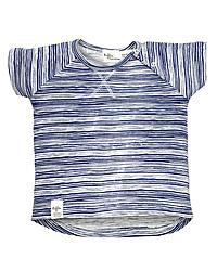 Riffle t-shirt donkerblauw gestreept