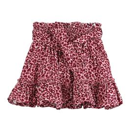 Vinrose rok panter roze