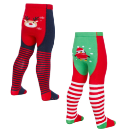 Festive tights baby maillot