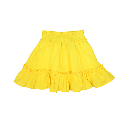 Vinrose rokje geel