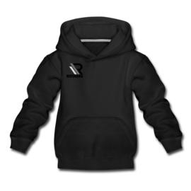 Kids hoodie zwart 134/146 gps