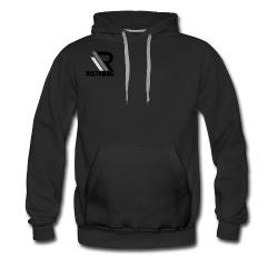 Ristabag man zwarte hoodie