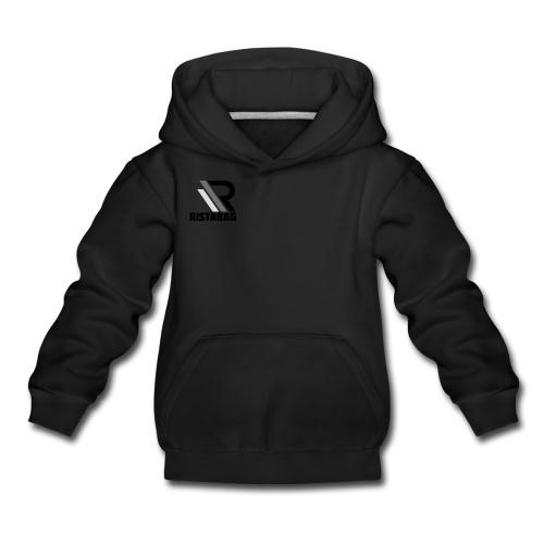 Kids zwarte hoodie 152/164 gps