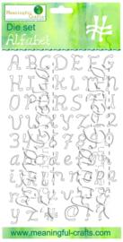 AGD Stansenset Alfabet