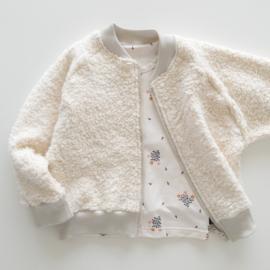 Vest - Teddy crème