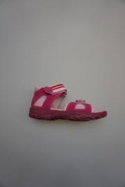 Ricosta, leer/high tech, lichtgewicht, klittenband/verstelbaar, dichte hiel, leren voetbed