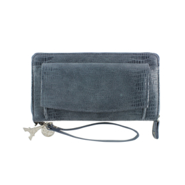 SLB By Lou Lou wallet/clutch Cameleon 90S 052 blue