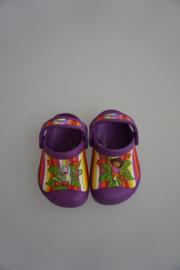 Crocs Kids, Dora Multi Stripe Custom Clog, dahlia paars