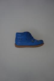 Bisgaard veterschoentje blauw leer 22
