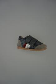 Shoesme klittenband grijs leer
