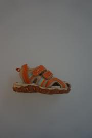 Ciao Bimbi, leren sandaaltje met dichte neus, leer gevoerd, klittenbandsluiting, Biscotto  22 23