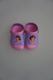 Crocs Kids, Dora explorer, Custom Clog Dora Ballet, rose lila dubbele maten:  25/26