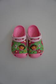 Crocs Kids, Dora & Boots, Jungle custom clog, pink lemonade/bubblegum