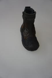 Pinnochio met stootneus bruin/zwart nubuck 24