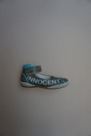 Innocent, leren bandschoen, stootneus, leer gevoerd, blauw 28