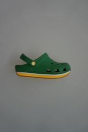Crocs Kids, Retro Clog, Kelly Green/ Yellow