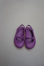Crocs, bandschoen/ballerina met open hiel, dahlia