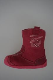 Shoesme waxleer roze, leer gevoerd, soepele loopzool, stootneusje,  18 19