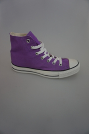 All Stars, Hoog, Canvas Purple/paars,  40