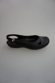 Crocs, Women, model Olivia , ballerina met strass steen, zwart