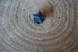 Jibbitz, ster blauw