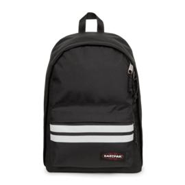 Eastpak, out of office, reflective black, met laptopvak 13 inch, voor school en werk.