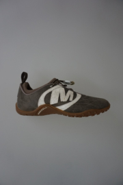 Merrell sneaker met elastische veter, zonder strikken) uitneembare binnenzool kaki 37