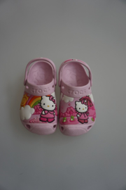 Crocs, Hello Kitty, bubblegum
