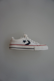 Converse Star Player, laag, canvas, optical white, 29