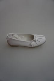 CKS, leren ballerina met extra lint, strikje, leer gevoerd ,33,  36