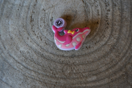 Crocs Jibbitz, dolfijn lila pink
