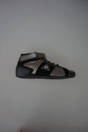 Le Coq Sportif sneaker zilver zwart leer