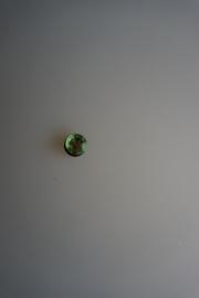 crocs jibbitz, strass steen rond, groen