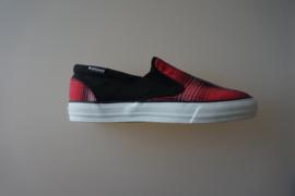 Converse, Skid grip EV Ombre,  instapper met zwart rode print, maat 44