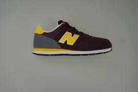 New Balance sneaker veter leer paars/geel