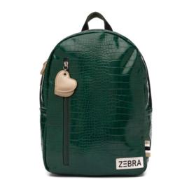 Zebra Trends,  croco green, rugzak maat M