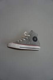 All Star, CT Spc. Hi, hoog, sweatshirt grijs, grey, red black 31 33 34