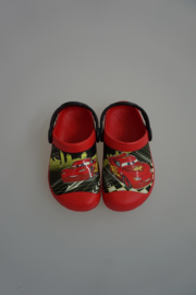 Crocs Kids, CC Lightning McQueen, Glowing in the dark clog, red