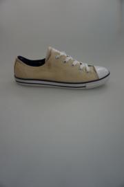 Converse, Dainty, laag canvas, dunne zool, off White/denim