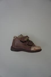 Ricosta klittenband brede schoen taupe nubuck 21