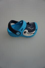 Crocs, Shark, blauw