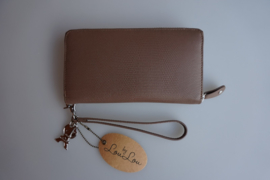 By Lou Lou, SLB S 107S 024, Smart Little Bag, lovely Lizard, taupe