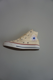 All Star CT Yth, Classic, hoog, canvas, White (roomkleur), unbleaced:  31