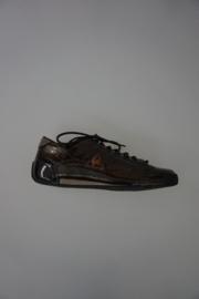Le Coq Sportif lage sneaker bronce lak leer 37