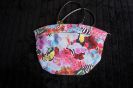 Oilily, Shopper Floral, bird print, multicolor