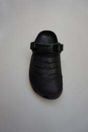 Crocs, herenmodel met verstelbare klittenbandjes achter op de hak,  zwart, 41/42