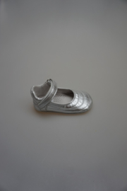 Bardossa, metallic leren bandschoentje, kruip-loopfase, leer van binnen, flexibele zool, 21