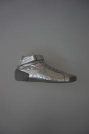 Le Coq Sportif sneaker zilver leer 37