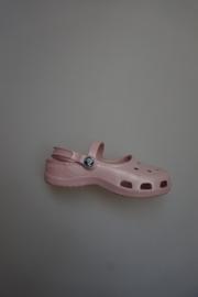 Crocs, bandschoen met 2 bandjes cotton candy